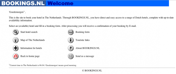 bookings.nl - 17 juli 1997