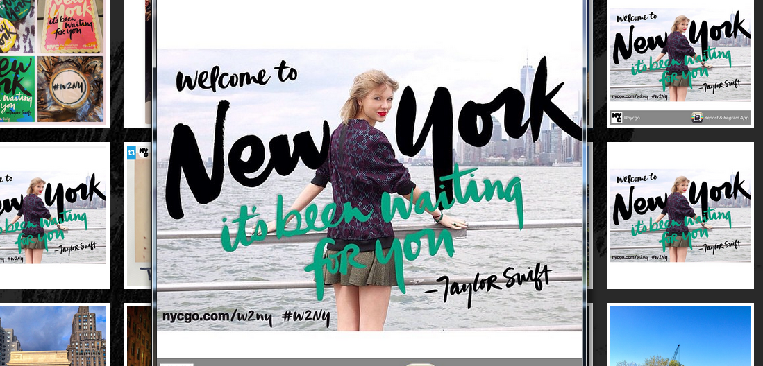 Welcome to new york taylor swift als marketingtool