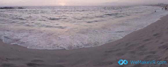 toerisme stills wemakeVR beach