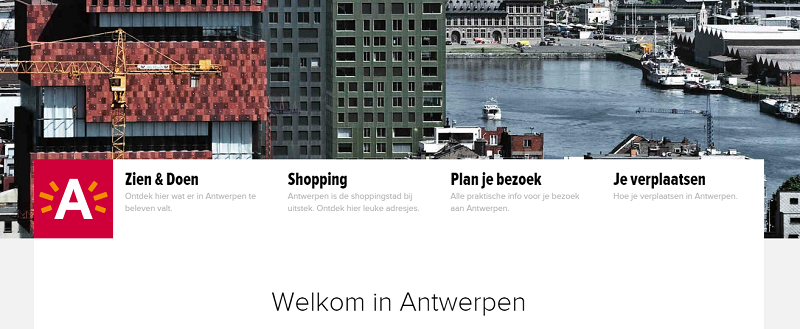 Blog DTIC - Antwerpen - website