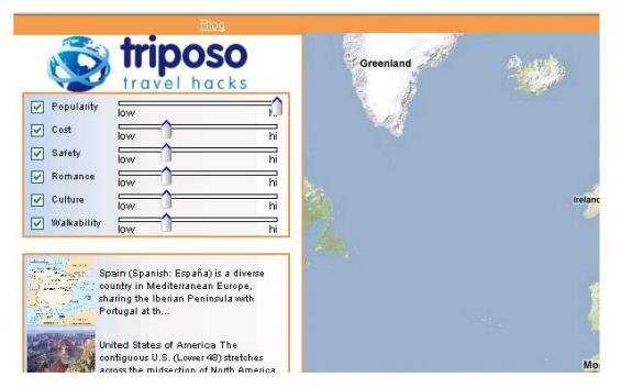 Triposo Travel Hacks