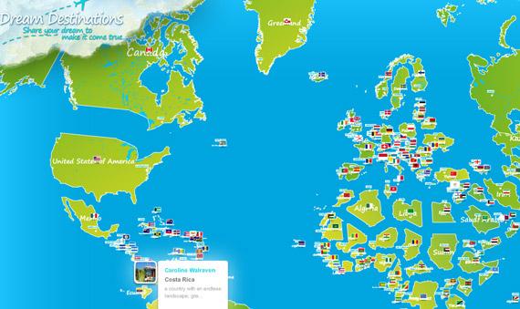 KLM Dream Destinations, screenshot