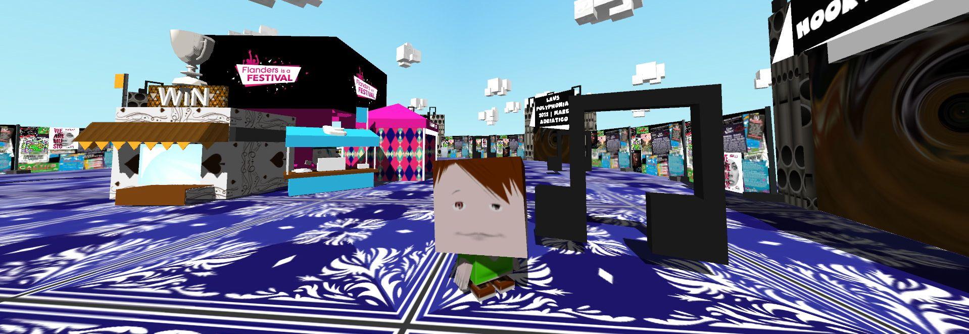 Toerisme Vlaanderen lanceert 3D game 'Flanders is a Festival'
