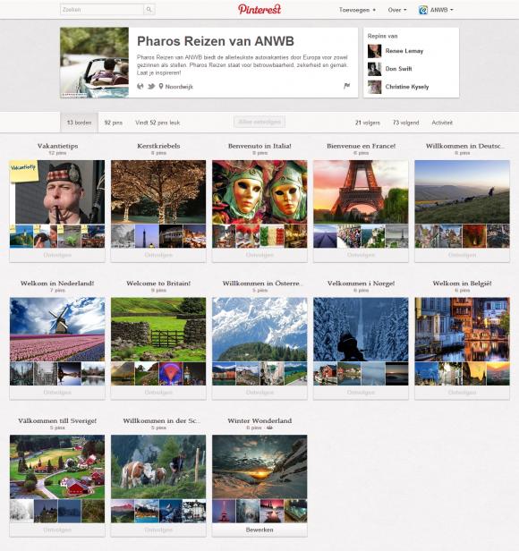 Pharos Reizen van ANWB op Pinterest