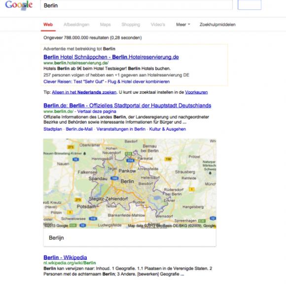 berlin zoekresultaten google