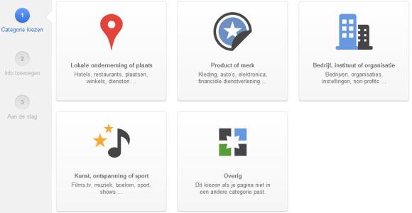 google plus bedrijfspagina aanmaken