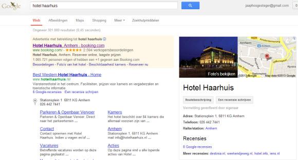 zoekresultaten hotelhaarhuis arnhem