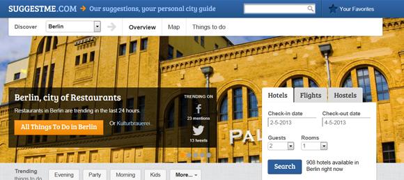 Startup: Suggestme, een reisgids op basis van social media