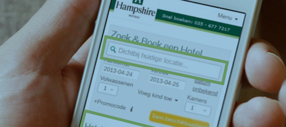 Responsive design hampshire hotels