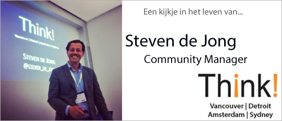 Steven de Jong van Think! Social Media