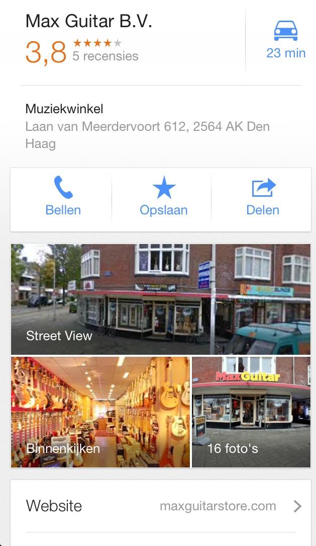 Location account Maps app