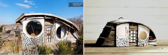 vogelhuisje airbnb birdbnb