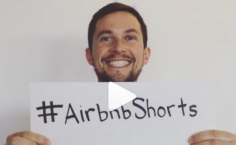 Airbnb loves Instagram met gecrowdsourcete #airbnbshorts