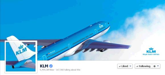 banner klm facebook