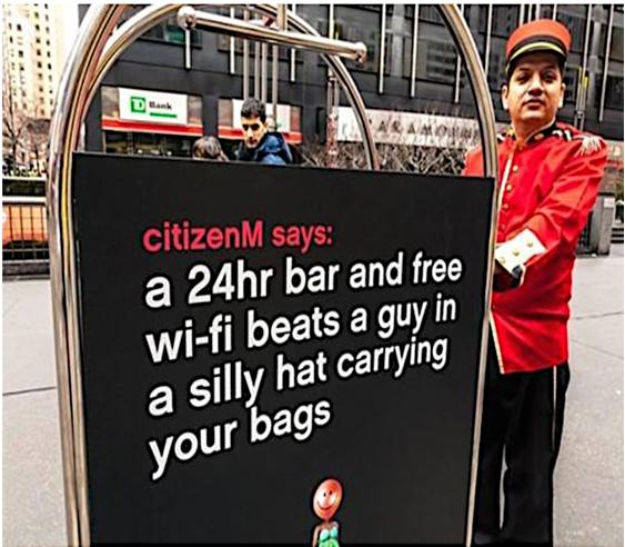 citizenm online marketing