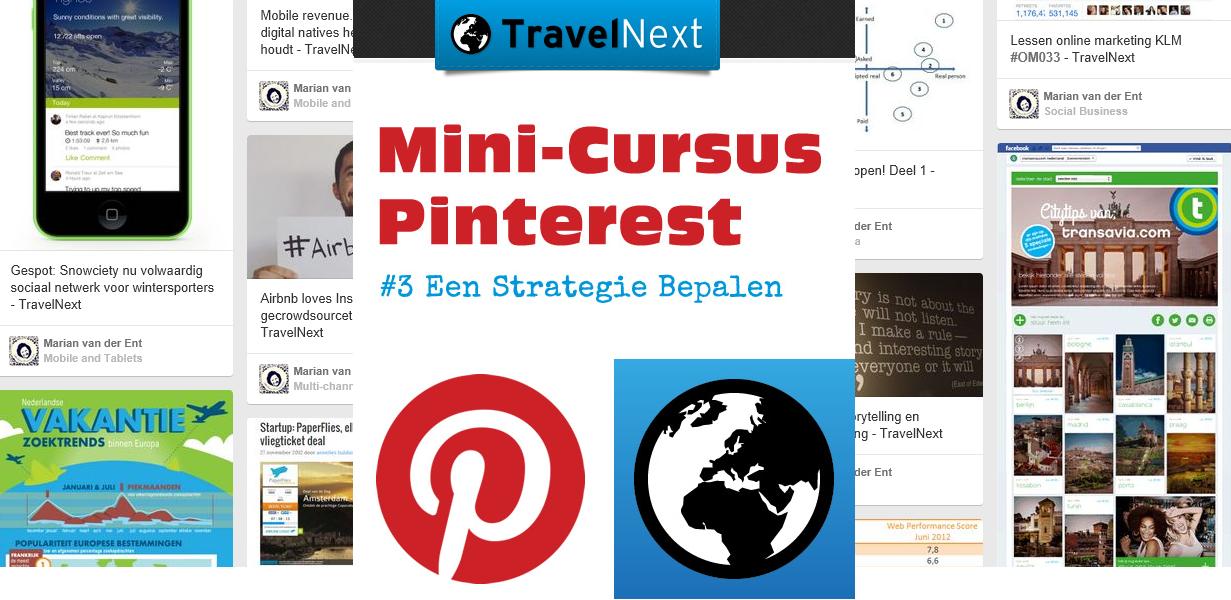 Pinterest Mini Cursus: Een Strategie Bepalen