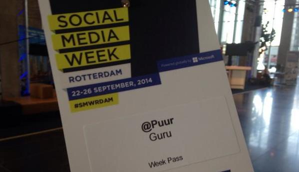 Guru Puur: 'the nine' voor social #SMWRdam