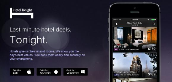 mobiel en hotels afb 1 hotel tonight