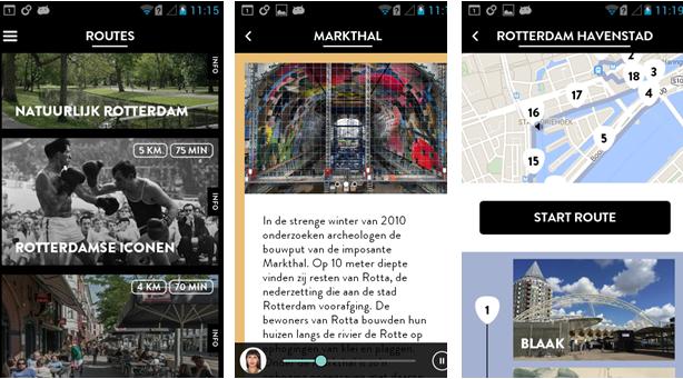 Rotterdam Routes App: 5 ambassadeurs en 5 stadsverhalen