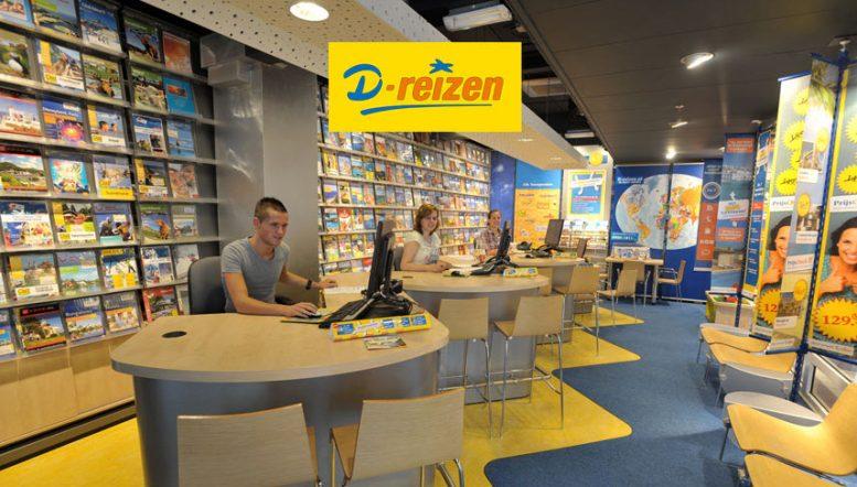 D-reizen gaat reisbureaus sluiten wegens fusie en online focus