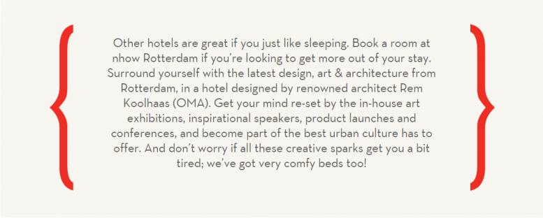 Nhow: Online recruitment, branding en designing in de hospitality industrie anno 2014
