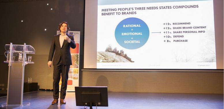 The future of profit is purpose! Geluk is het nieuwe businessmodel #vakantiebeurs2015
