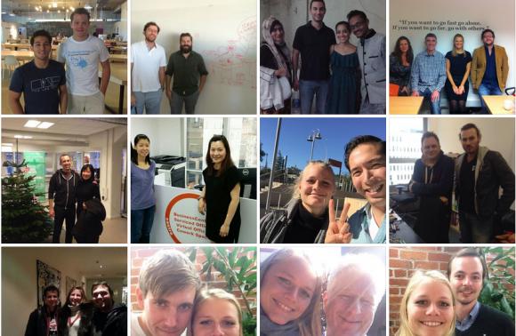 startup travels meet ups