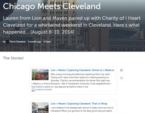 clevelandstorify user generated content