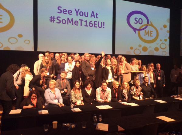 Recap: #SoMeT15EU in 100 tweets