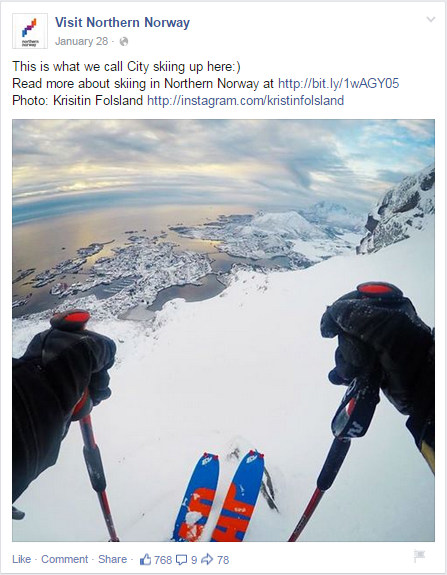 northnorway user generated content