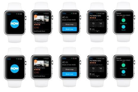 Booking komt met app voor Apple watch
