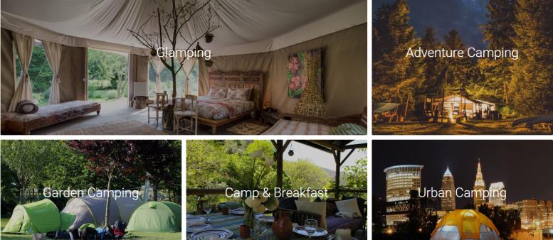 Startup Campr: een online marktplaats voor outdoor & camping ervaringen