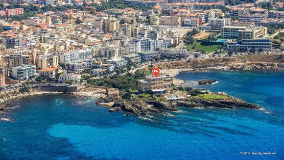 Tripinview Hotel boeken en zoeken Italie met helikopter