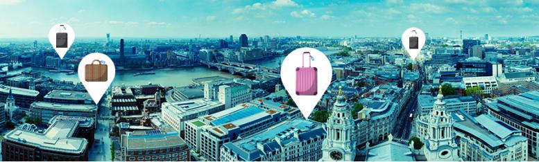 Online startup voor 'luggage freedom' actief in Londen