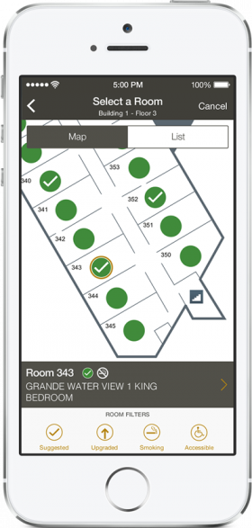 Hilton hotel app
