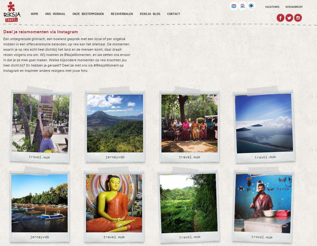 Blog Riksja Travel - #Riksjamoment