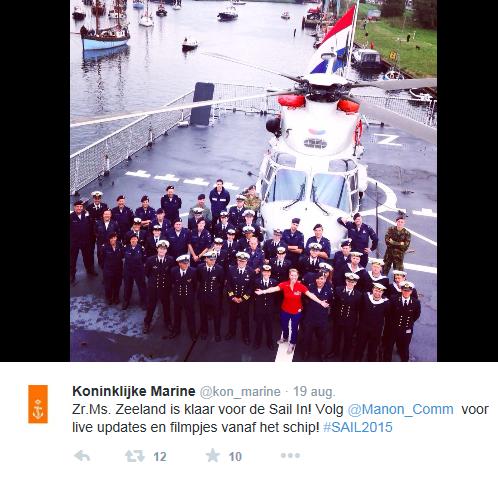 koninklijke marine promoot manon
