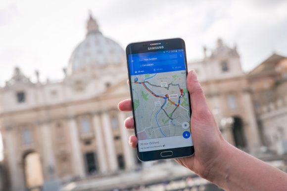 RomeWithGoogle Maps