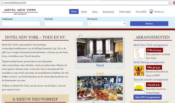 Blog onafhankelijke hotels vs. grote hotelketens - Hotel New York