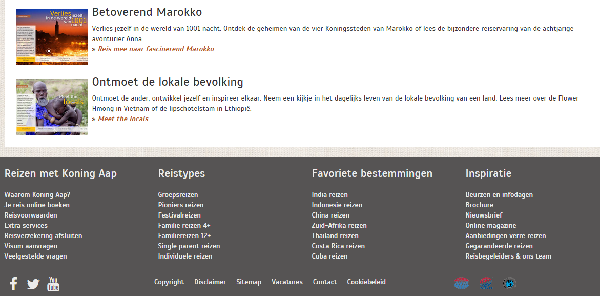 Blog Webmagazines - Koning Aap Social Media