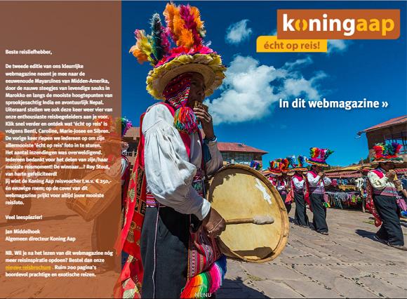 Blog Webmagazines - Koning Aap content