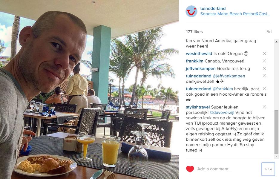 Sint Maarten foto's van Dave Verzijl op Instagram