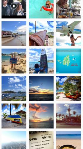 Sint Maarten posts op Instagram