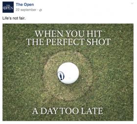 the open meest succesvolle post