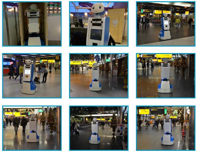 Welkom SPENCER: een diepere kennismaking met de eerste robot op Schiphol