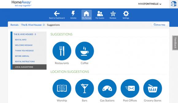TravelNext - home away app experience