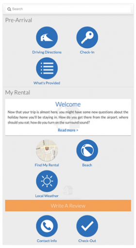 TravelNext - home away pre-arrival experience