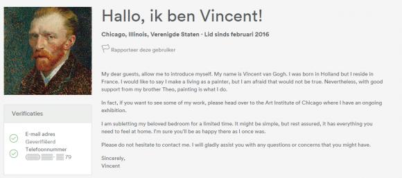 Biografie Vincent van Gogh