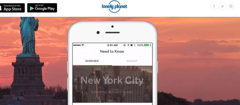 Lonely Planet lanceert eindelijk een nieuwe cityguides app