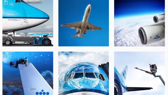 toestellen KLM instagram